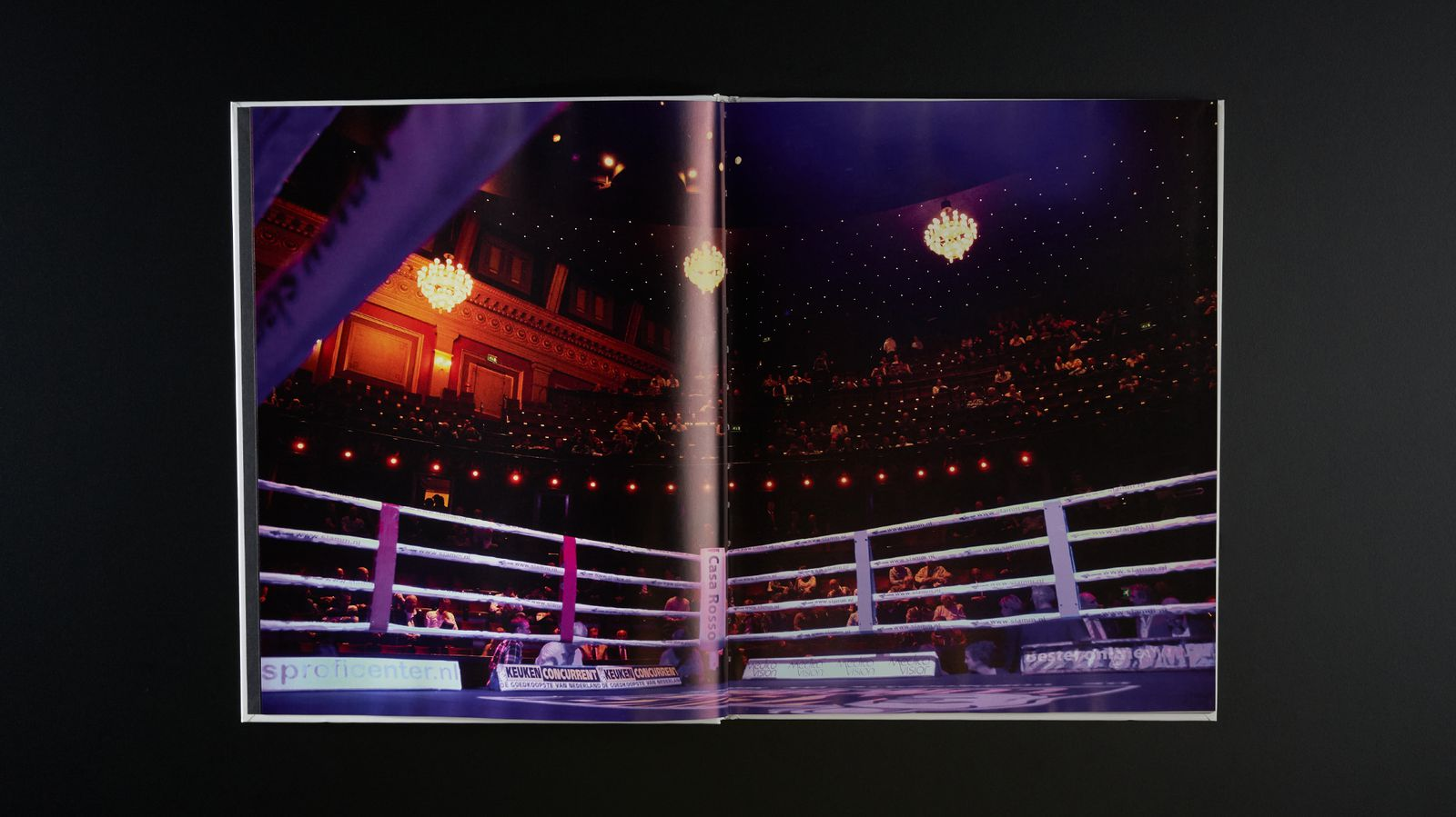 Seconds out, Faces of boxing - Spread 1.jpg