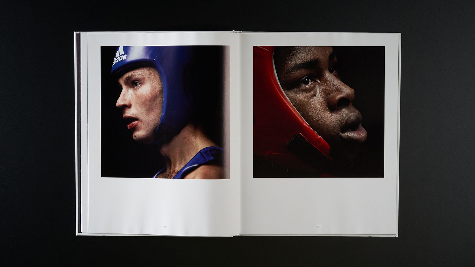 Seconds out, Faces of boxing - Spread 2.jpg